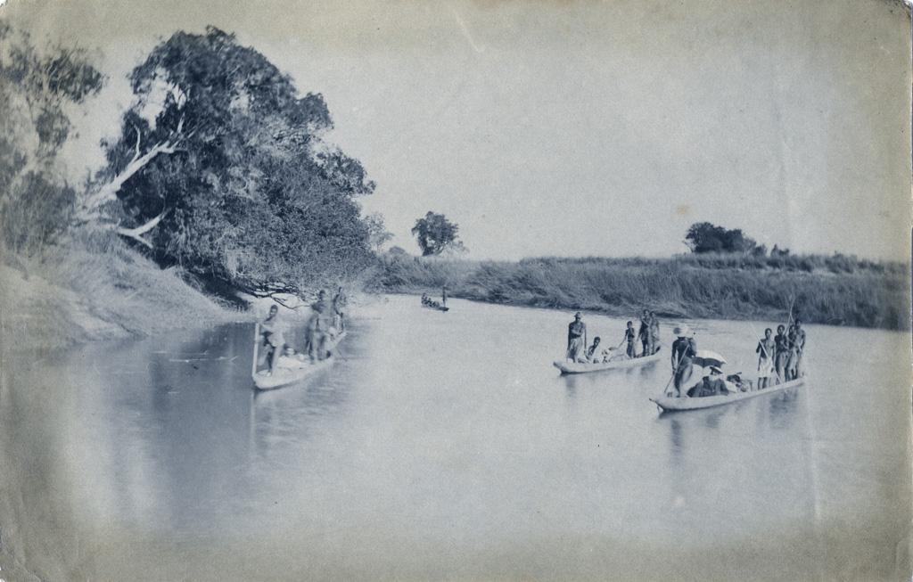 Nalisa, vue sur une branche du Zambèze