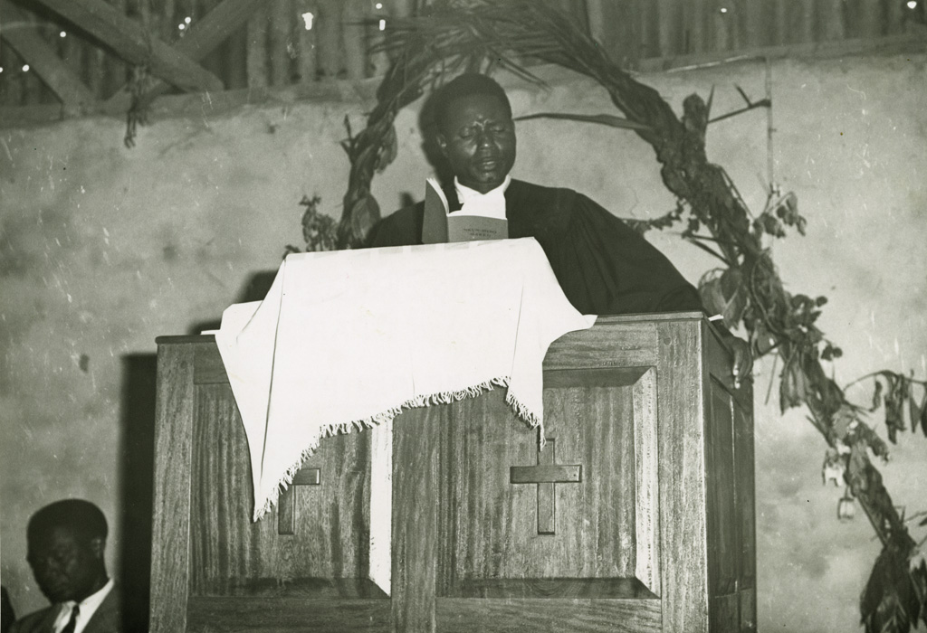 Nicodème Ngayap, proposant Bamiléké, de l'Eglise évangélique de Yannéré