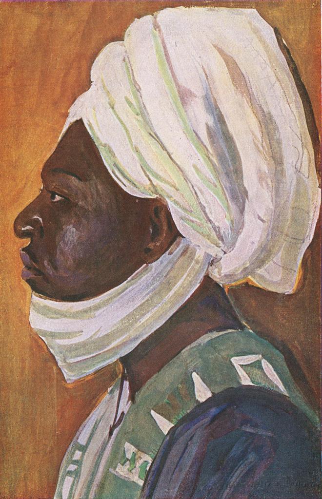 Njoya de profil