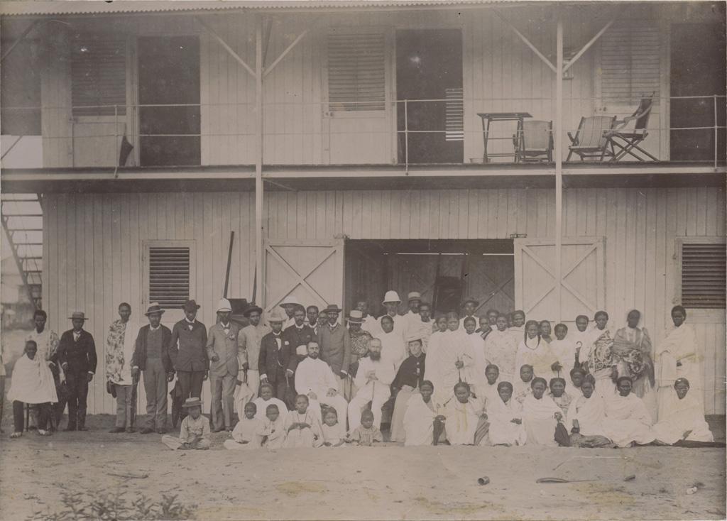 Notre maison à Tamatave