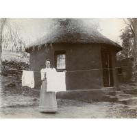 Notre première habitation indigène (hutte Gautier)