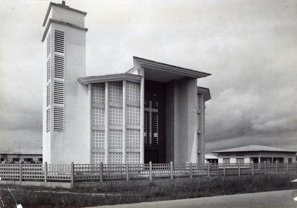 Nouveau temple de l'Eglise Evangélique de Njo-Njo