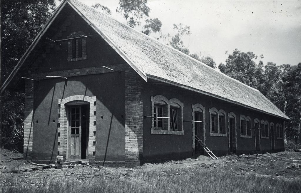 Nouveaux bâtiments d'école