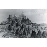 Palais de la reine et ville ancienne