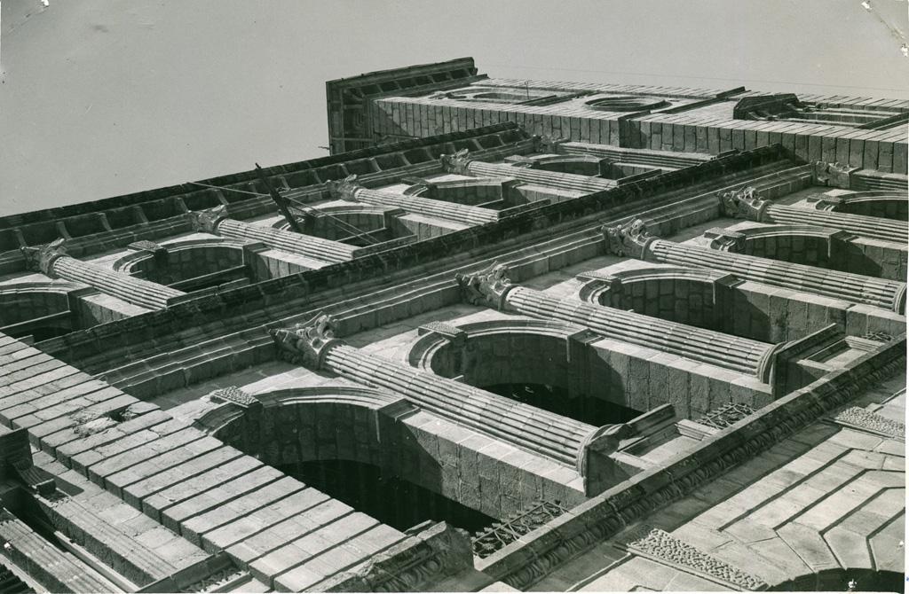 Palais de la reine, façade
