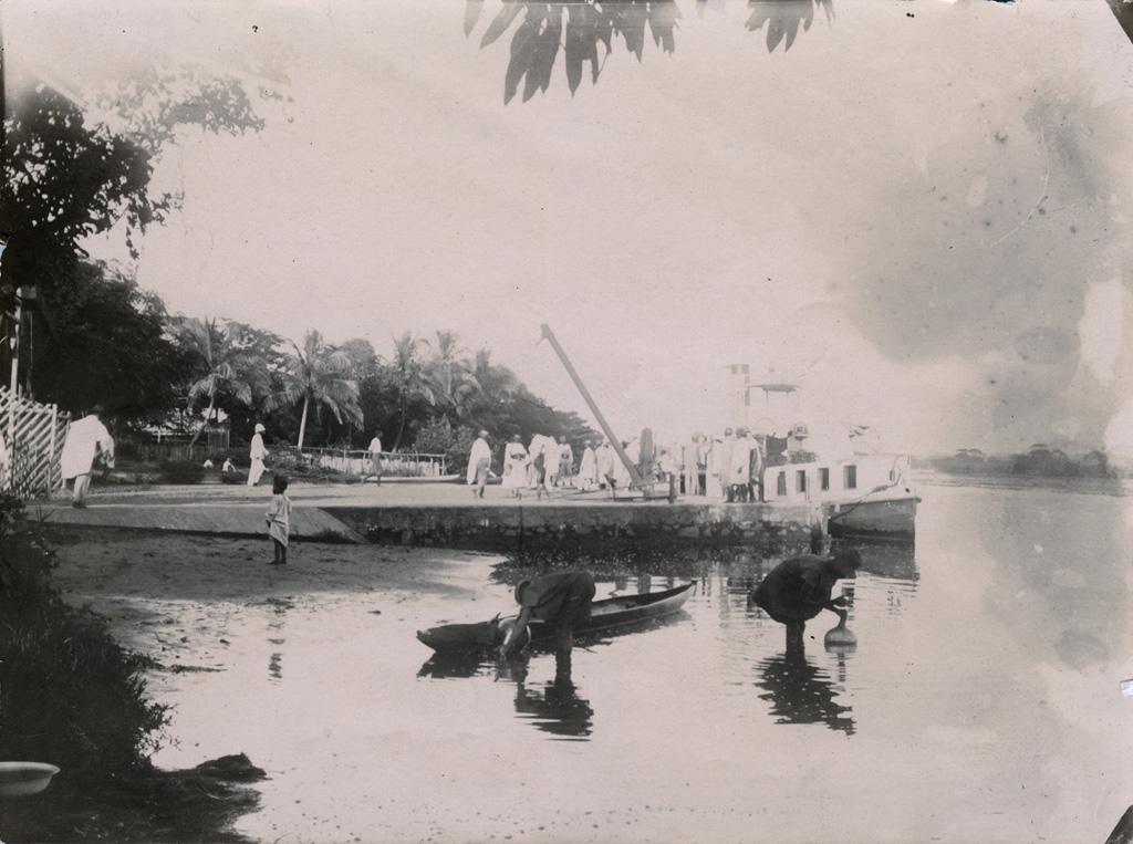 Pangalanes, le débarcadère