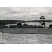 Panorama du lac Ossa à Dizangué