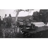 Passage du Noun, le camion descendant sur le radeau