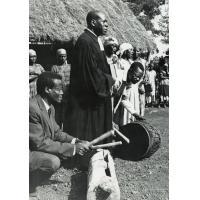 Pasteur Ndifon à la consécration du temple Bali-Sang