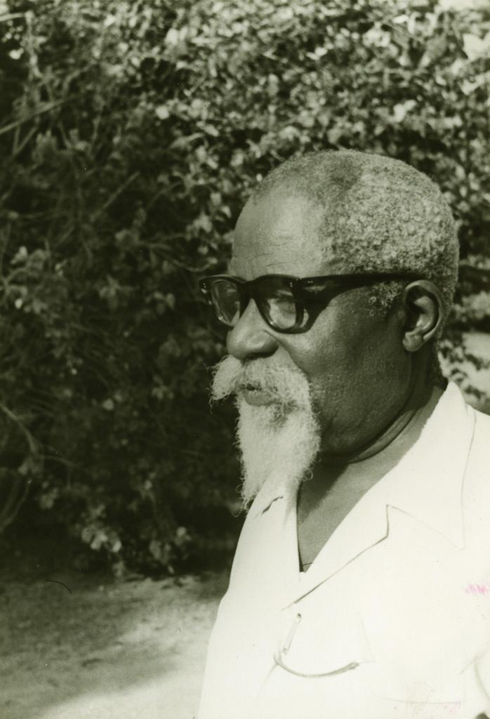 Pasteur Paul Jocky, président de l'Eglise évangélique du Cameroun