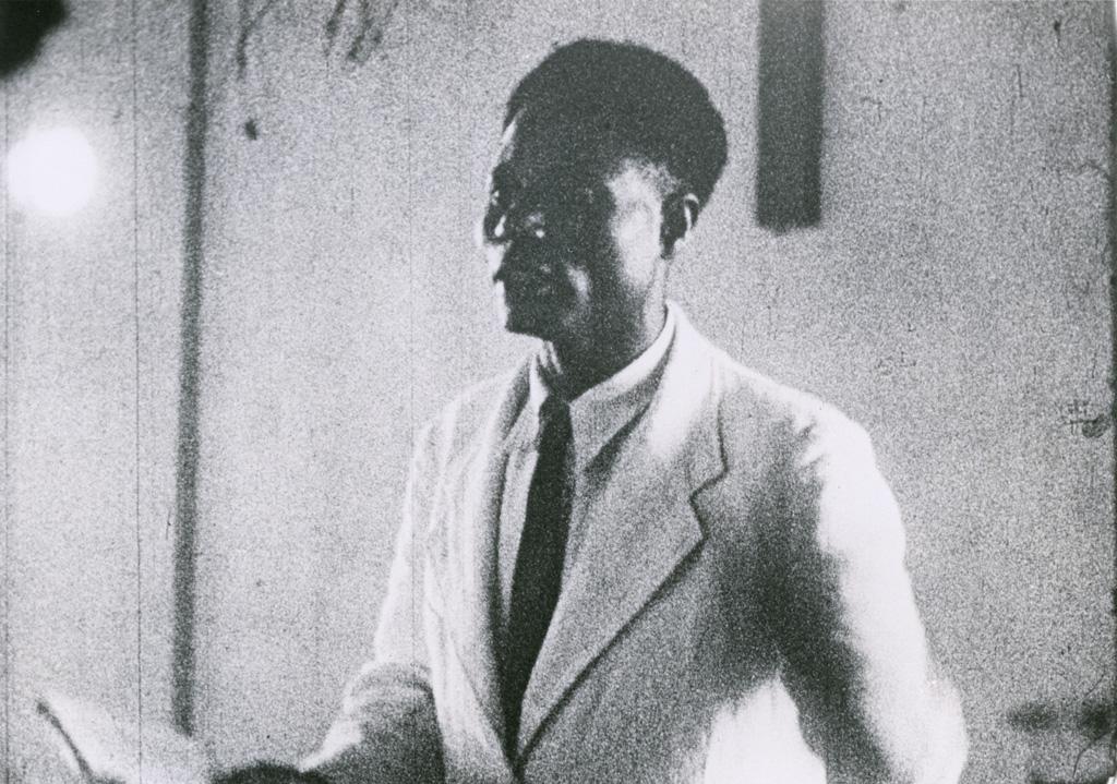 Pasteur indigène (Nguyap Nicodème) de l'hôpital de Bangwa
