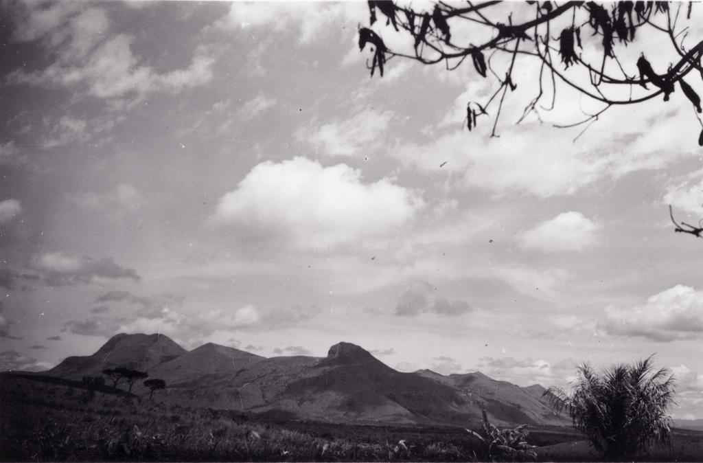 Pays Bamoun - le Mpabit, vue large