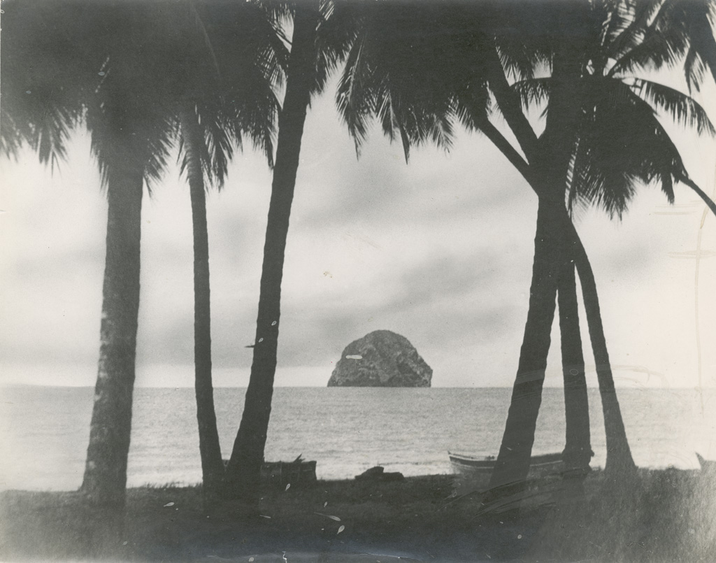 Paysage de Polynésie