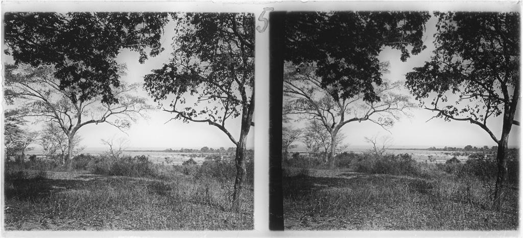 Paysage de plaines aux environs de Sefula