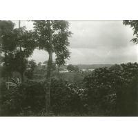 Paysage et station missionnaire de Ngomo