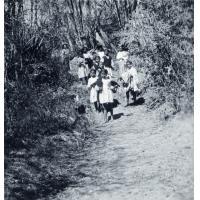 Petites filles malgaches en colonie de vacances