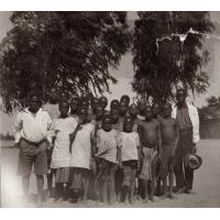 Photo de classe de l'annexe de Libonda