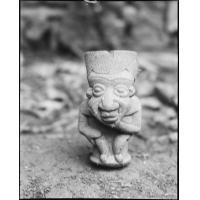 Pipe de chef en terre, trouvée dans la case des crânes