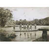 Pirogue indigène à Nakéty