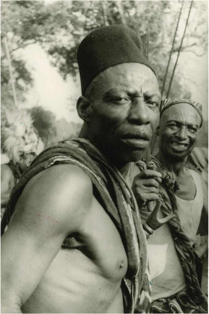 [Portrait d'homme Bamiléké, à Bangwa]