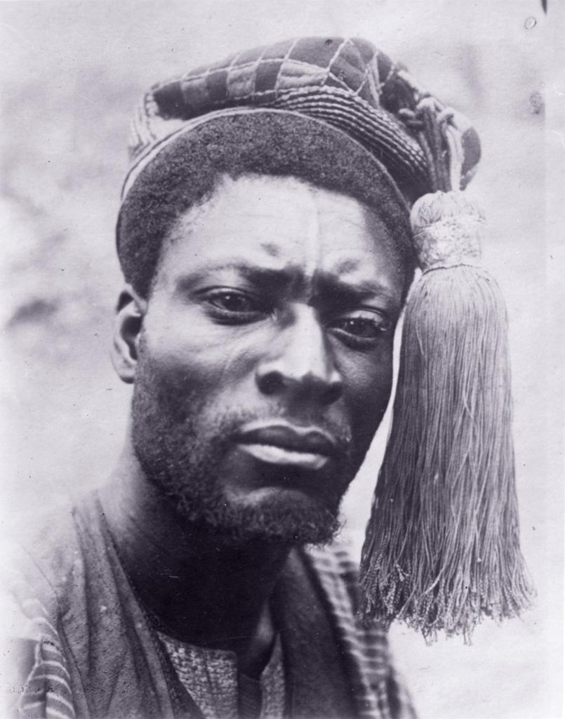 Portrait d'un frère du roi Njoya, Nji Ndab