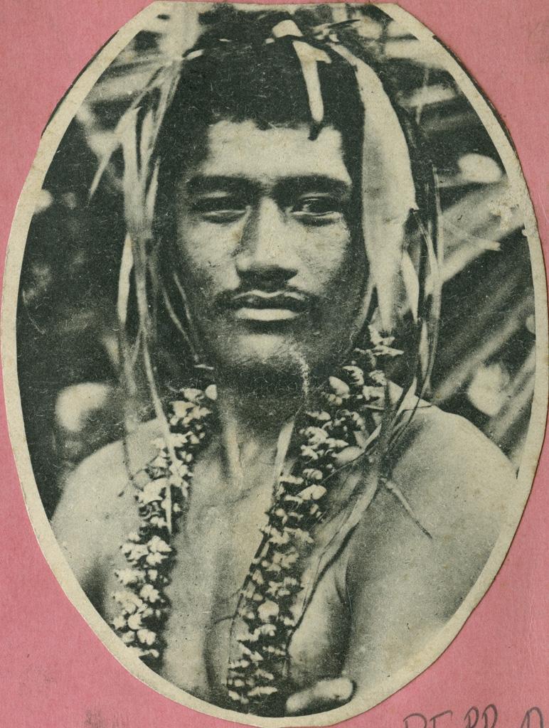 Portrait d'un jeune homme Tahitien