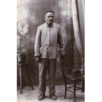 Portrait d'un pasteur indigène de Nouméa, Toova Monéosee (?)