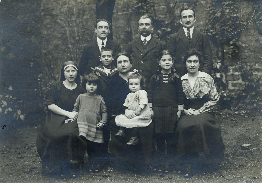 Portrait de groupe de missionnaires de la SMEP / non identifié (10/02/22)