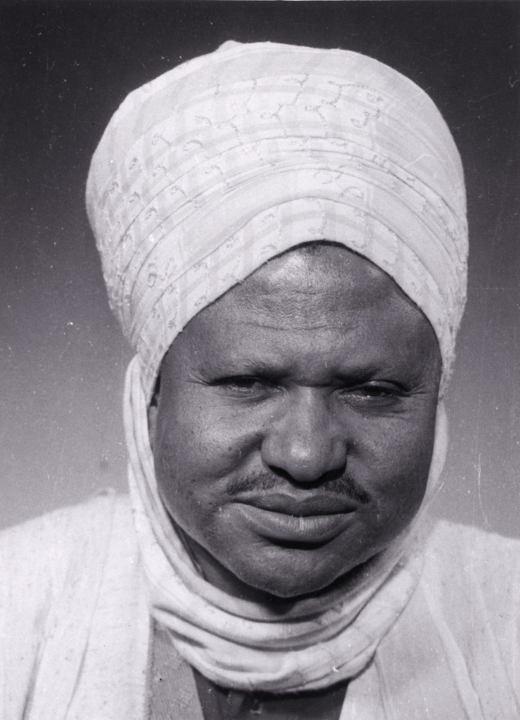 Portrait du roi Njimoluh / non identifié (1930/1950)