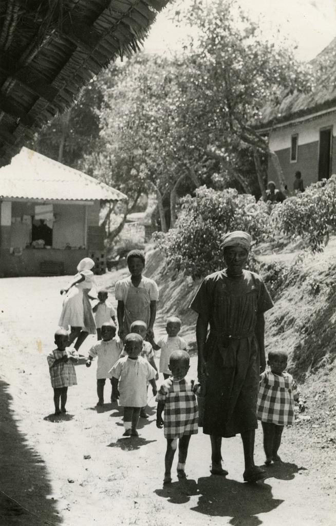 Pouponnière de Bangwa