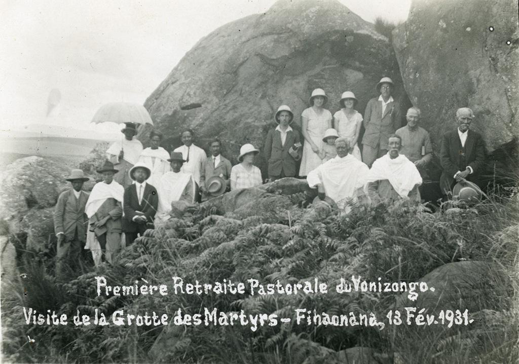 Première retraite pastorale du Vonizongo