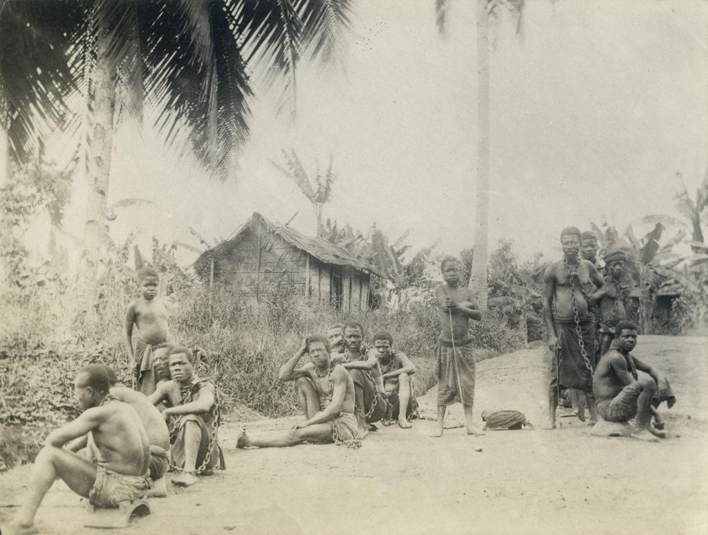 Prisonniers à Libreville