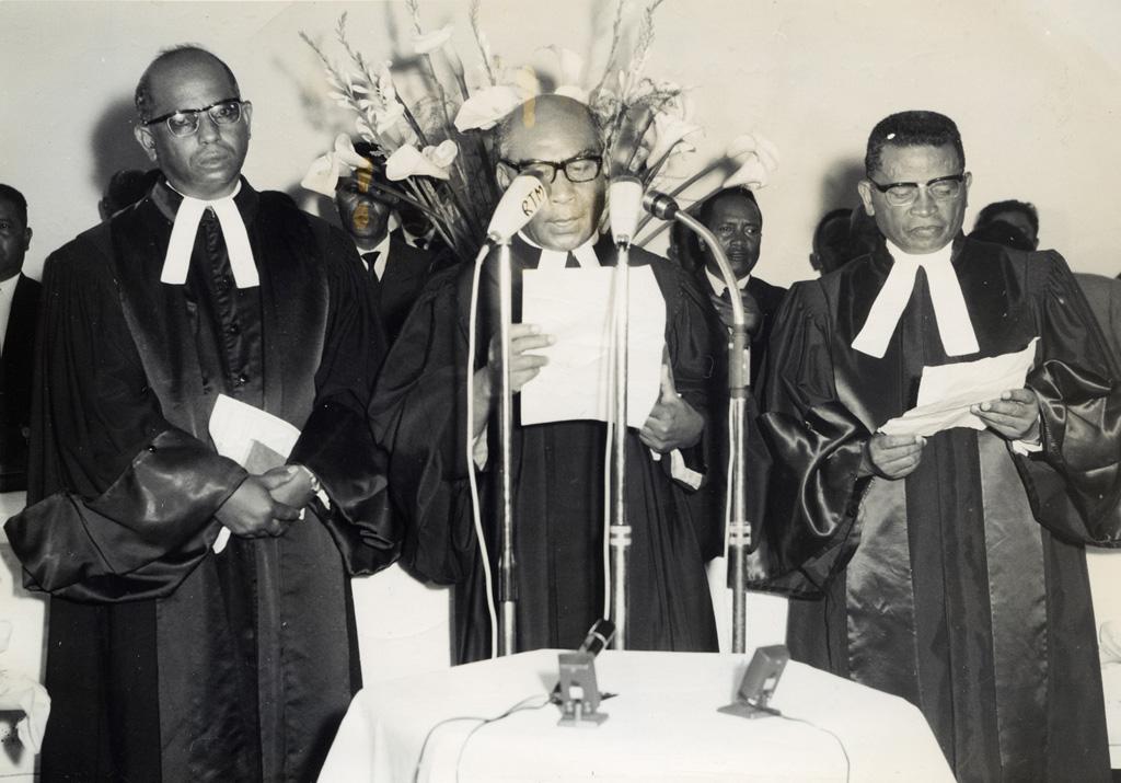 Proclamation officielle de l'Eglise Unie (FJKM ou Eglise de Jésus-Christ à Madagascar) au temple Tranovato