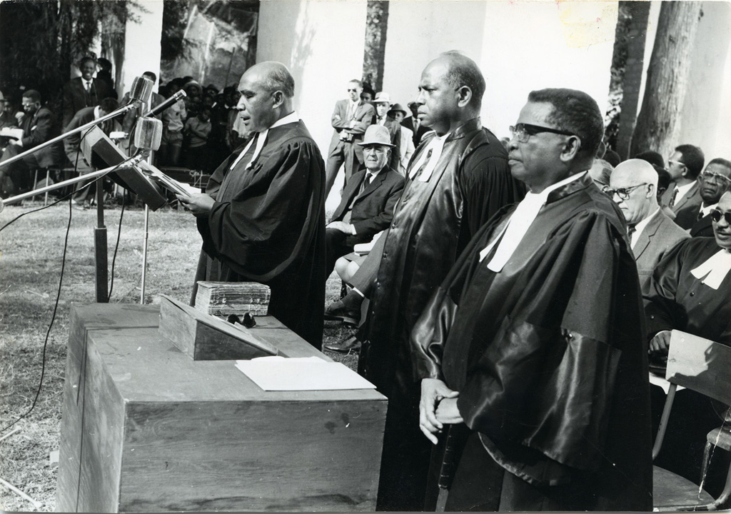 Proclamation officielle de l'unité des trois Eglises du nord de Madagascar (Église de Jésus Christ à Madagascar)