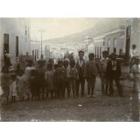 Quartier Malais du Cap : groupe d'enfants