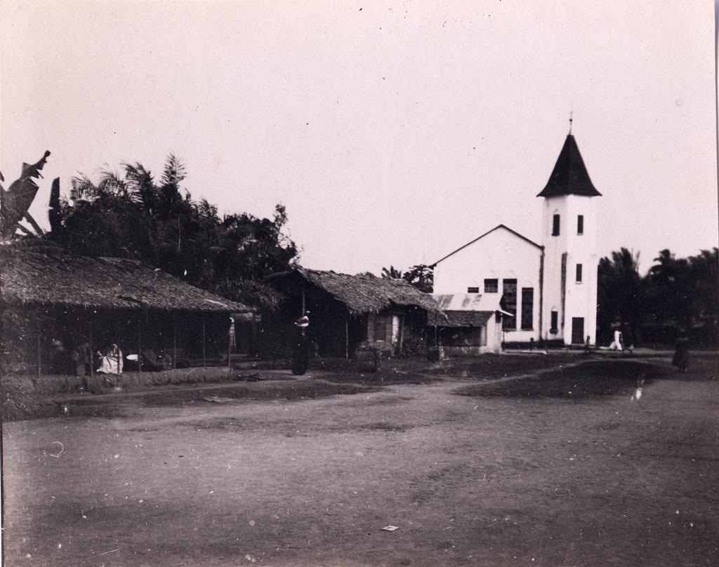 Quartier d'Akwa, église baptiste