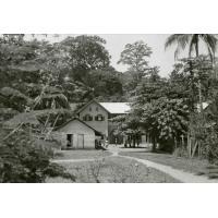 Quartier scolaire des filles à Lambaréné