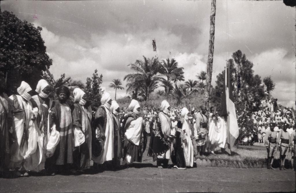 Réception du gouverneur à Foumban