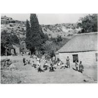 Récréation à l'internat de filles à Leribe