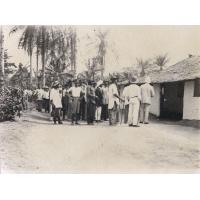 Remise de la clef de l'Eglise de Bonake