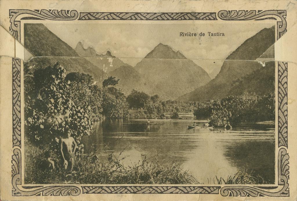 Rivière à Tautira, Tahiti