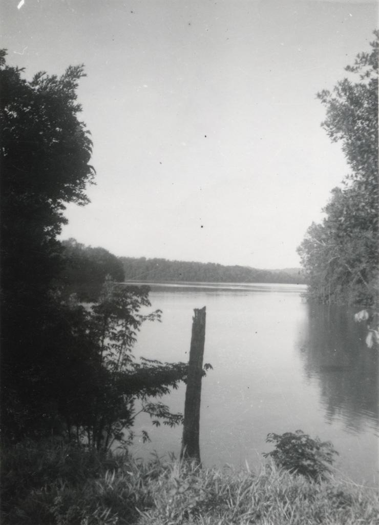 Rivière dans l'estuaire du Gabon