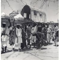 Roi Bouba dans un palanquin