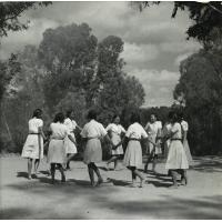Ronde d'éclaireuses unionistes à Madagascar