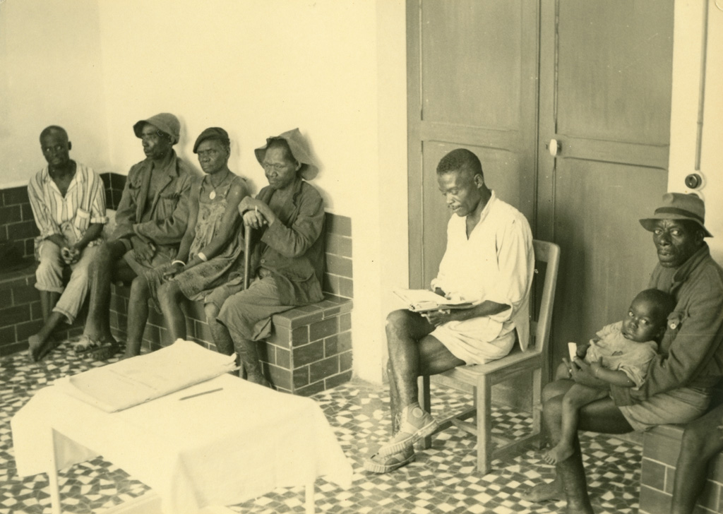 Salle d'attente de la léproserie