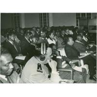 Séance plénière de la seconde conférence des Eglises luthériennes Africaines