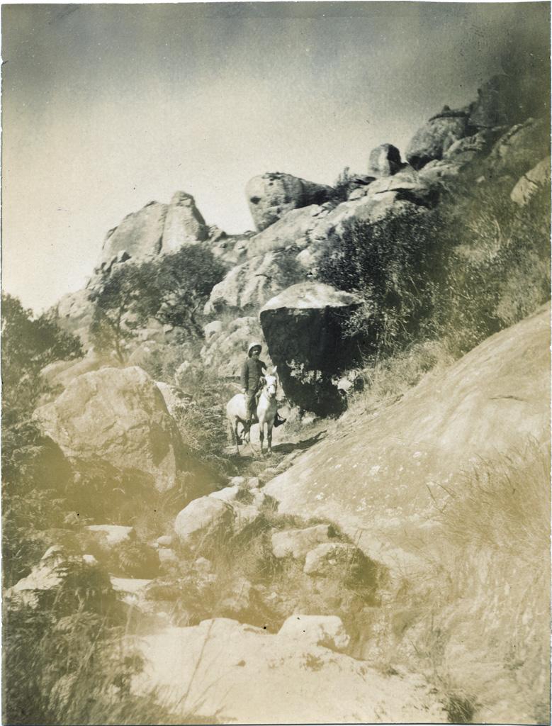 Sentier dans le district d'Ambohibeloma
