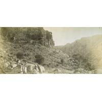 Shoshong, la gorge du château des babouins