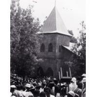 Sortie de culte à Foumban