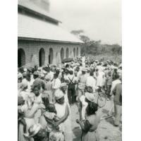 Sortie de culte à Mfoul